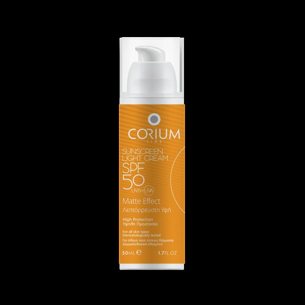Sunscreen light cream spf50